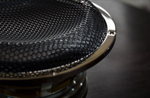 Rhodium plated custom driver basket